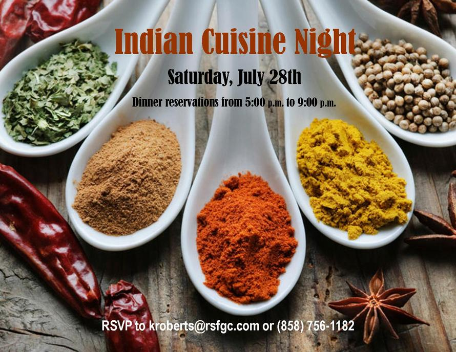 Indian Cuisine Night