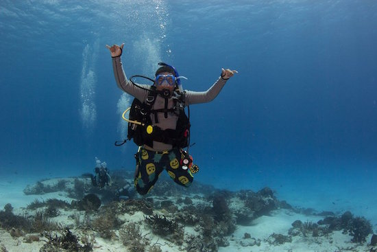 World's Youngest Master Diver
