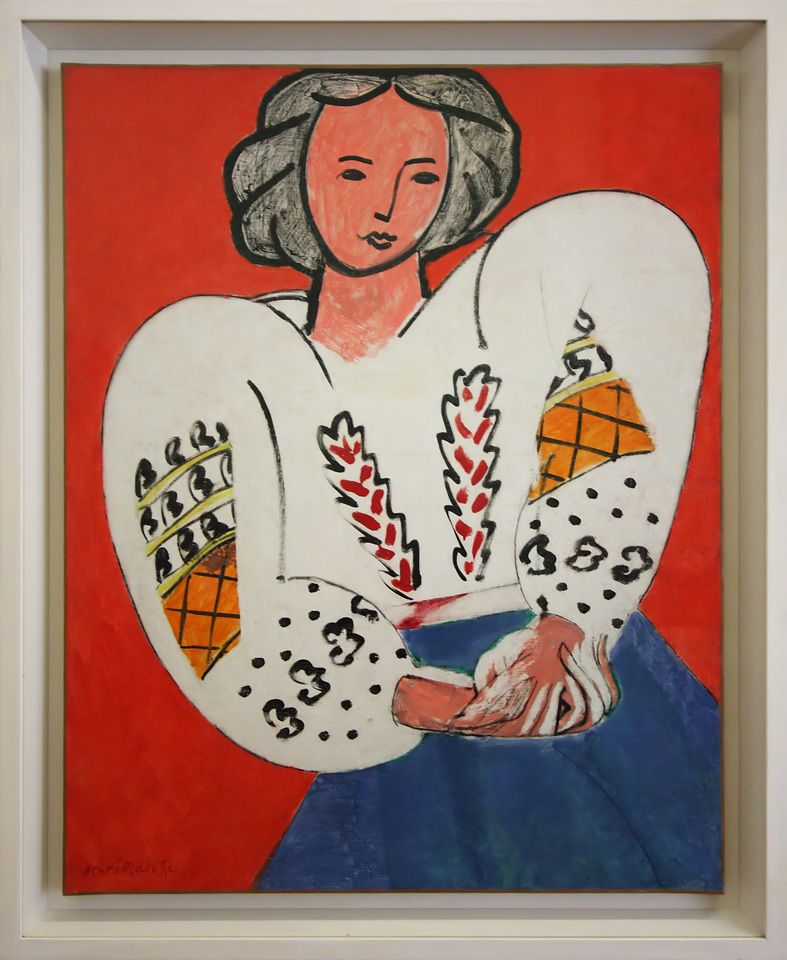 Henri Matisse, La blouse romaine, 1940.