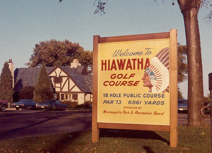 Minneapolis Park Board utilized racist imagery to promote Hiawatha Golf Course