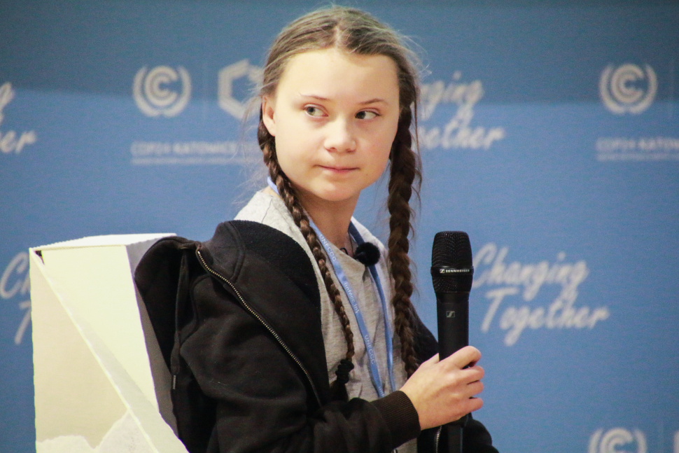 Greta Thunberg is a leader