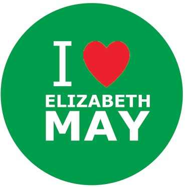 I love Elizabeth May button