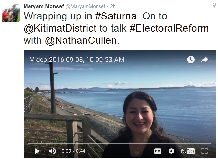 Wrapping up in #Saturna