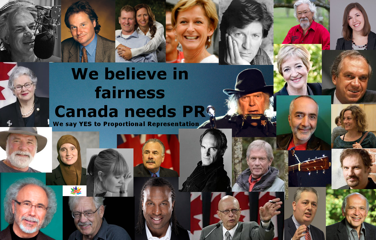 Prominent Canadians Speak Out