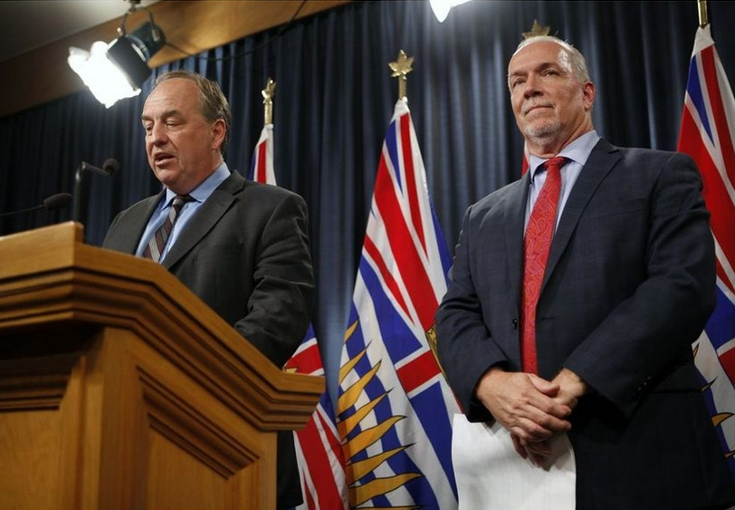 British Columbia took a step this week to join the club of advanced democracies
