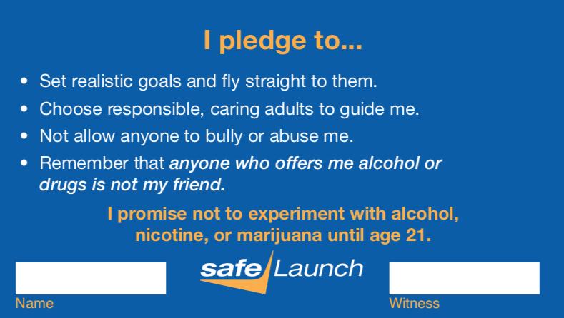 Youth Pledge Card Back