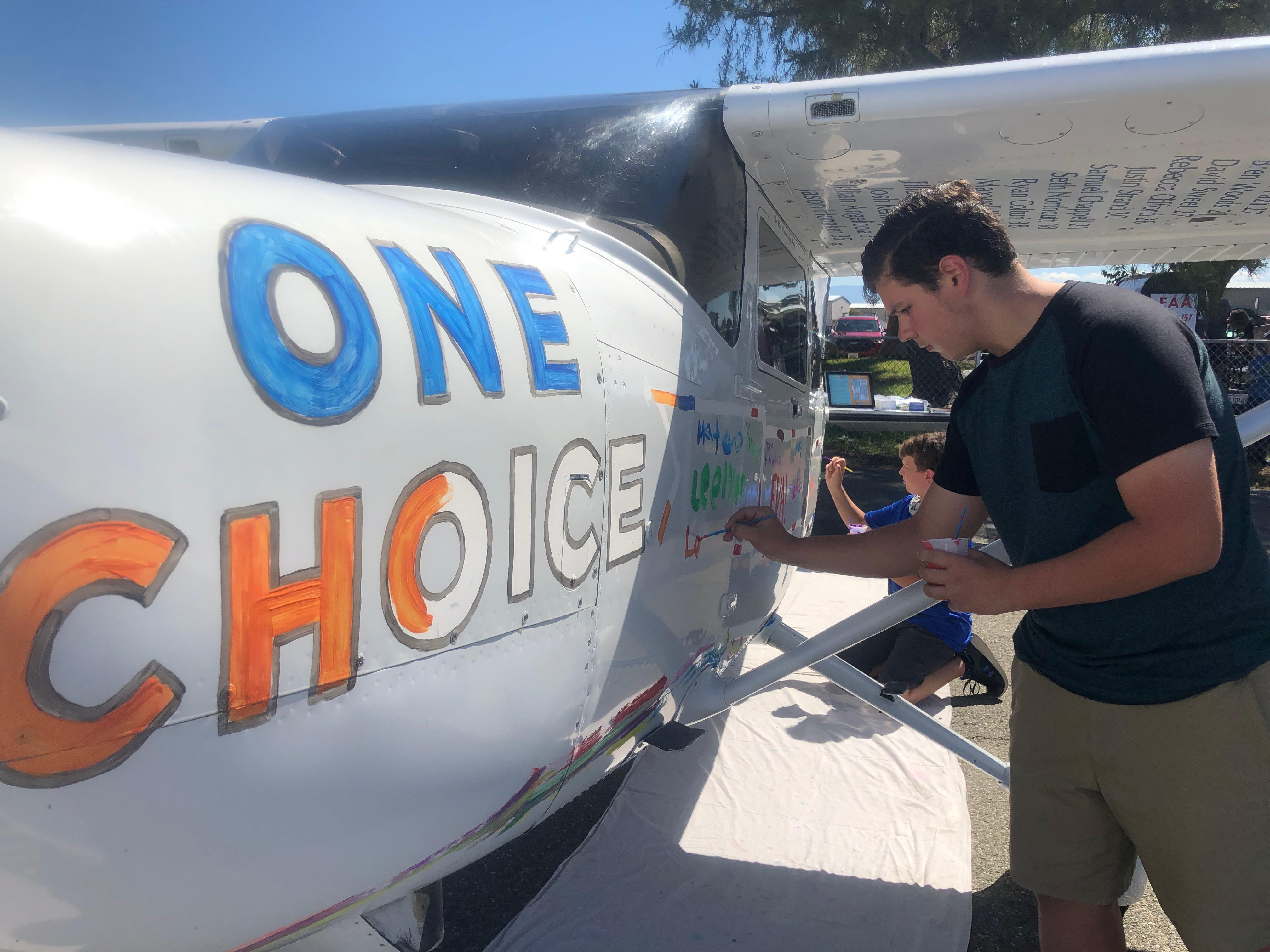 Taking the One Choice Pledge