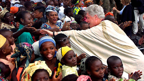 Bill Clinton in Africa