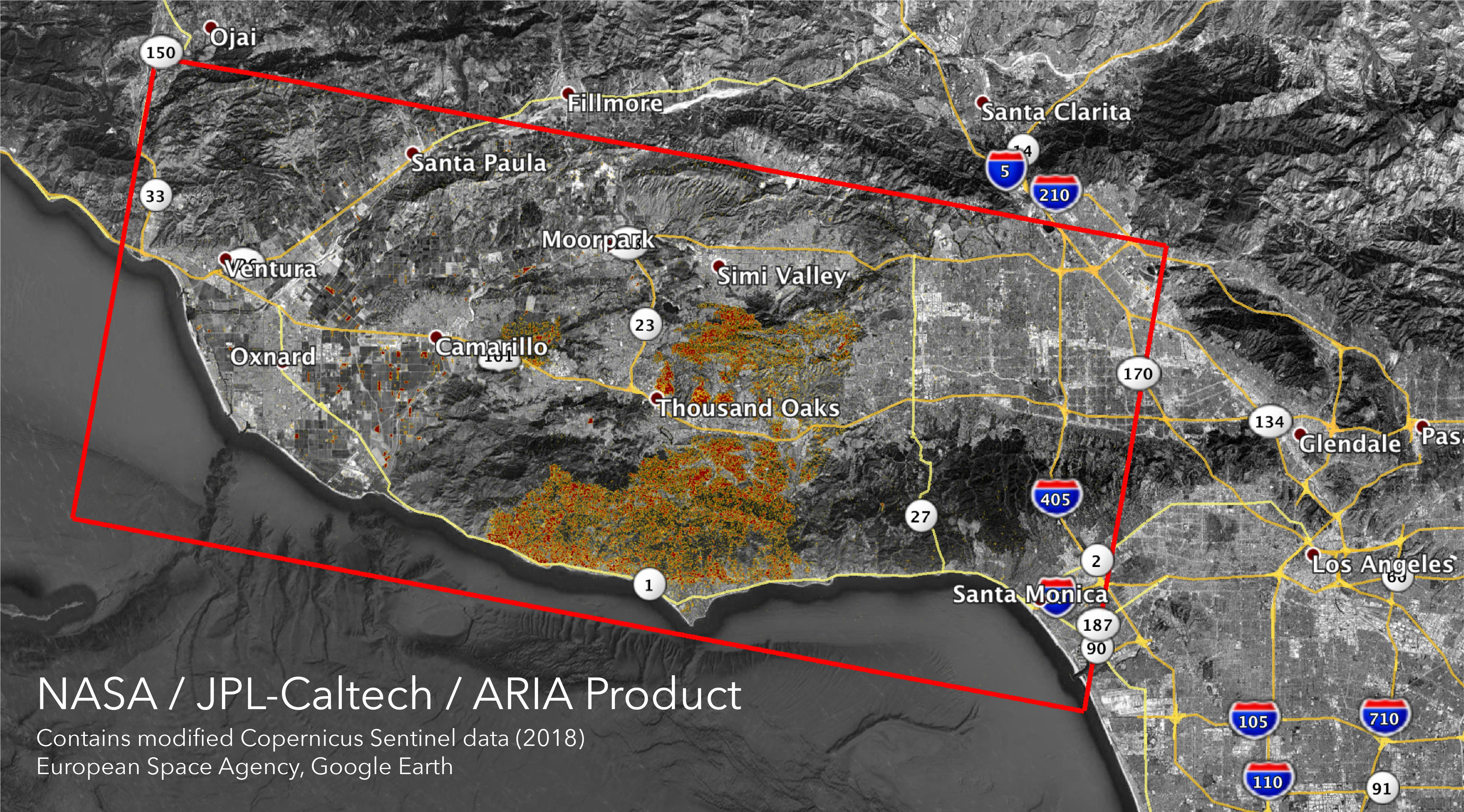 Sepulveda Pass Fire Map.Los Angeles Socal Airports Are Critical Assets In Fighting