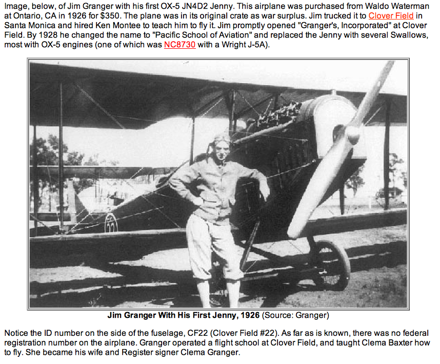 Jim-Granger-with-his-first-Jenny-1926.png