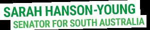 Sarah Hanson-Young: Greens Senator for South Australia