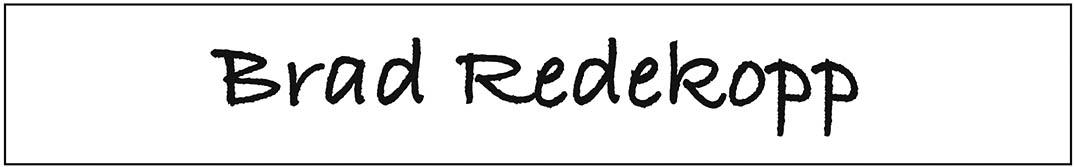 Brad Redekopp - ballot sample