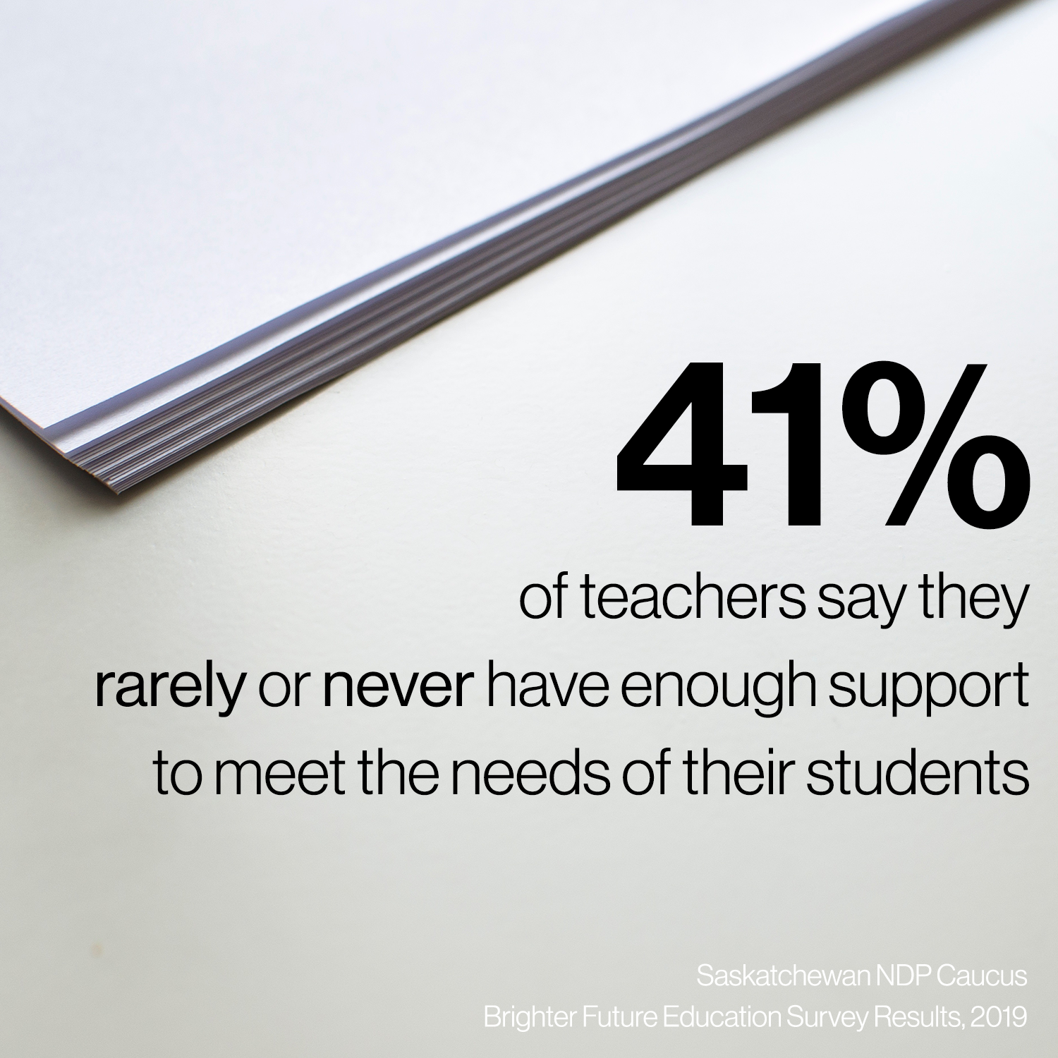 Survey Infographic Teachers
