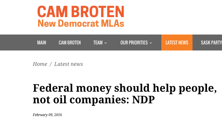 NDP Reality Check: Enough with the contempt for our energy industry