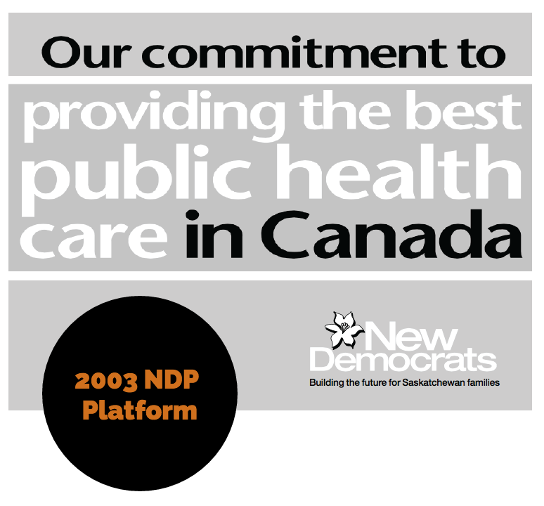 REALITY CHECK: More promises from the NDP on health care they can't deliver on