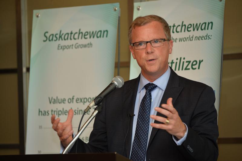 Premier Says Saskatchewan Party Is Best Choice To Stand Up For Saskatchewan