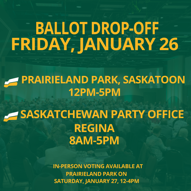 Leadership Ballot Drop-off Location Added