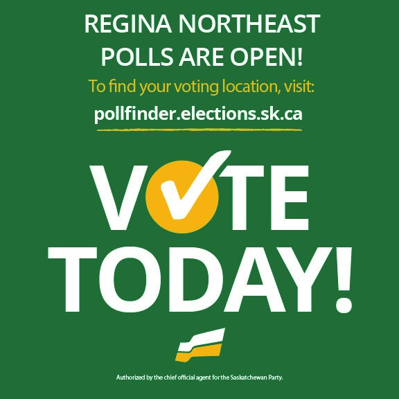 Commit to Vote for the Saskatchewan Party in Regina Northeast
