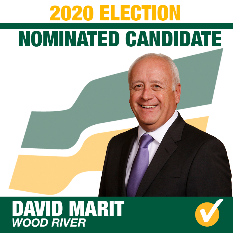 David Marit Acclaimed as the Saskatchewan Party Candidate for Wood River