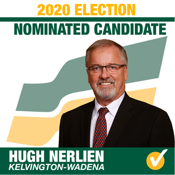 Hugh Nerlien Acclaimed as Saskatchewan Party Candidate for Kelvington-Wadena