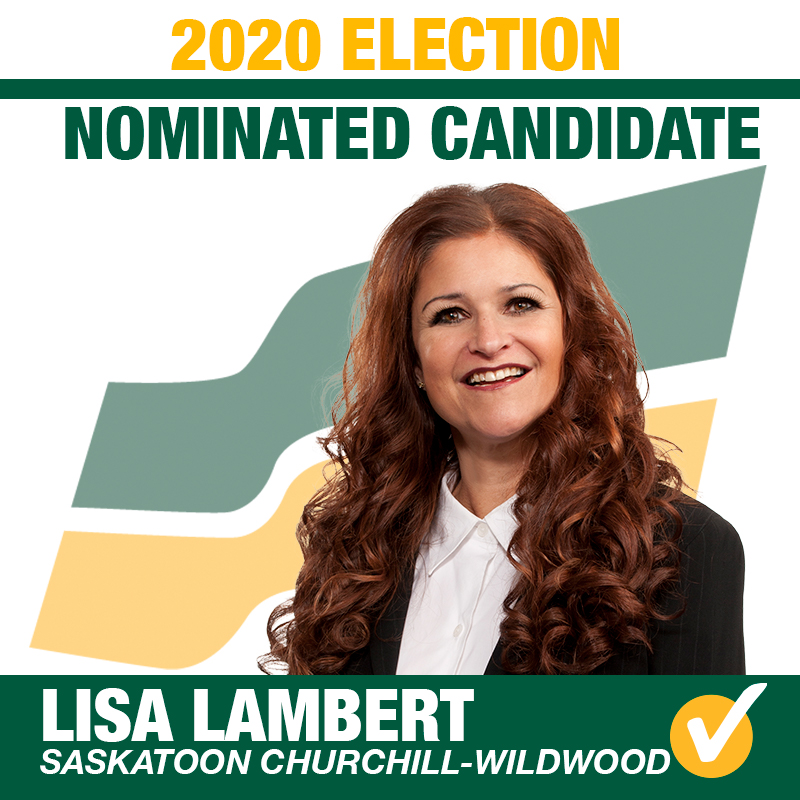 Lisa Lambert Acclaimed as the Saskatchewan Party Candidate for Saskatoon Churchill-Wildwood