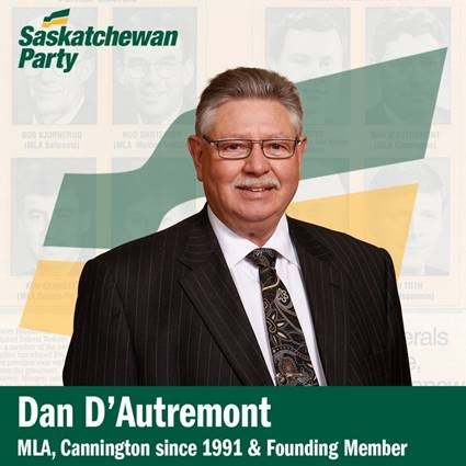 Dan D'Autremont Will Not Seek Re-Election