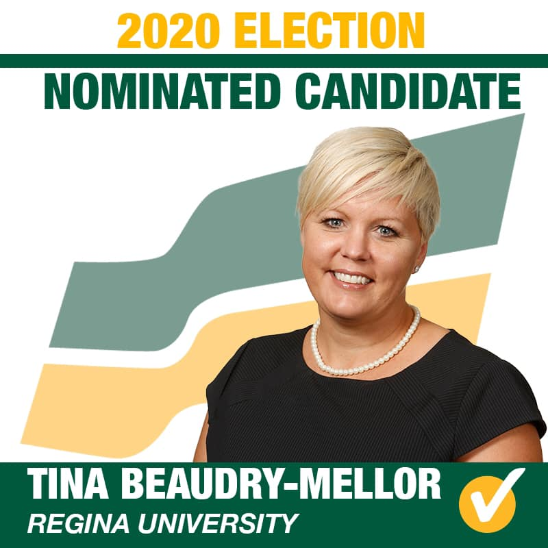 Tina Beaudry-Mellor Acclaimed as the Saskatchewan Party Candidate for Regina University