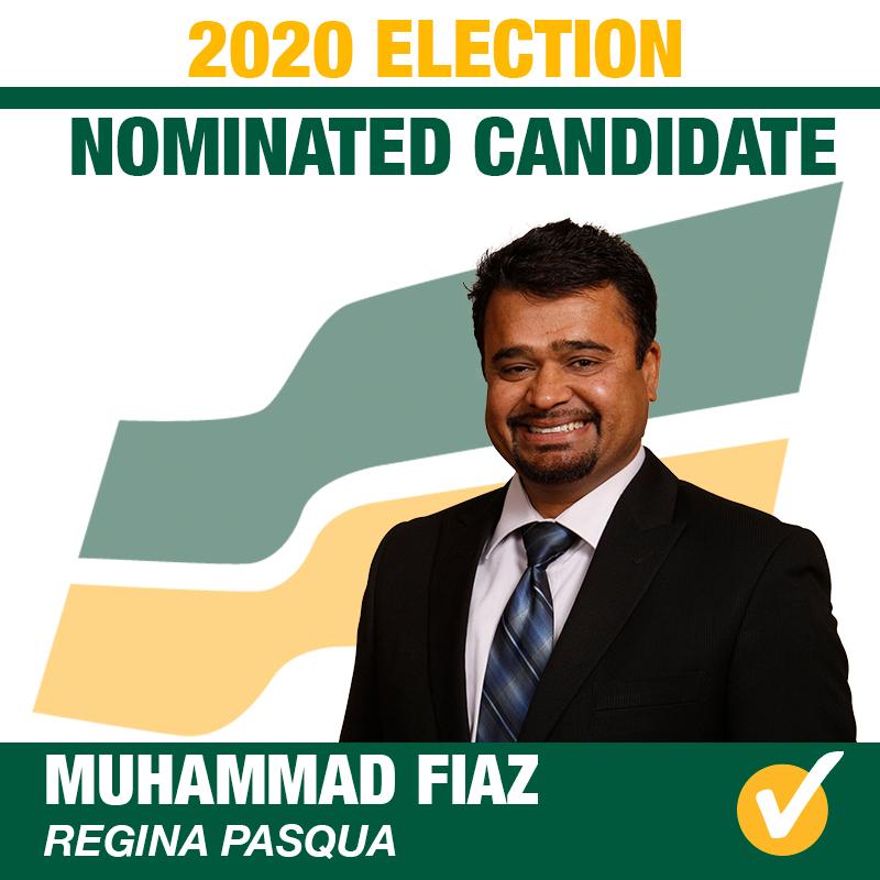 Muhammad Fiaz Wins Contested Nomination in Regina Pasqua