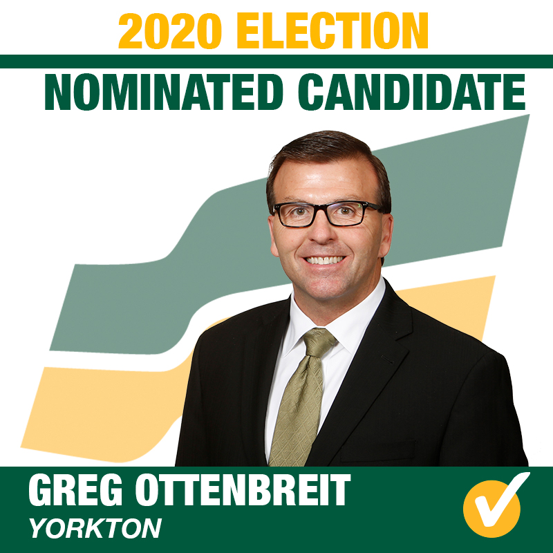 Greg Ottenbreit Acclaimed as the Saskatchewan Party Candidate for Yorkton