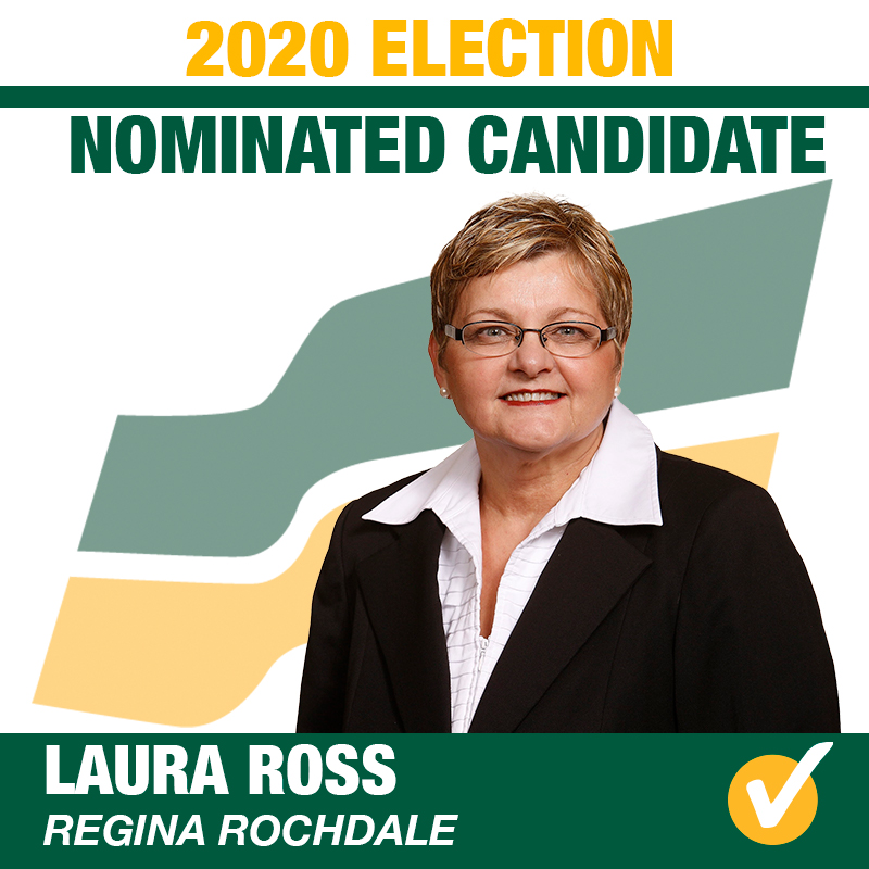 Laura Ross Acclaimed as the Saskatchewan Party Candidate for Regina Rochdale