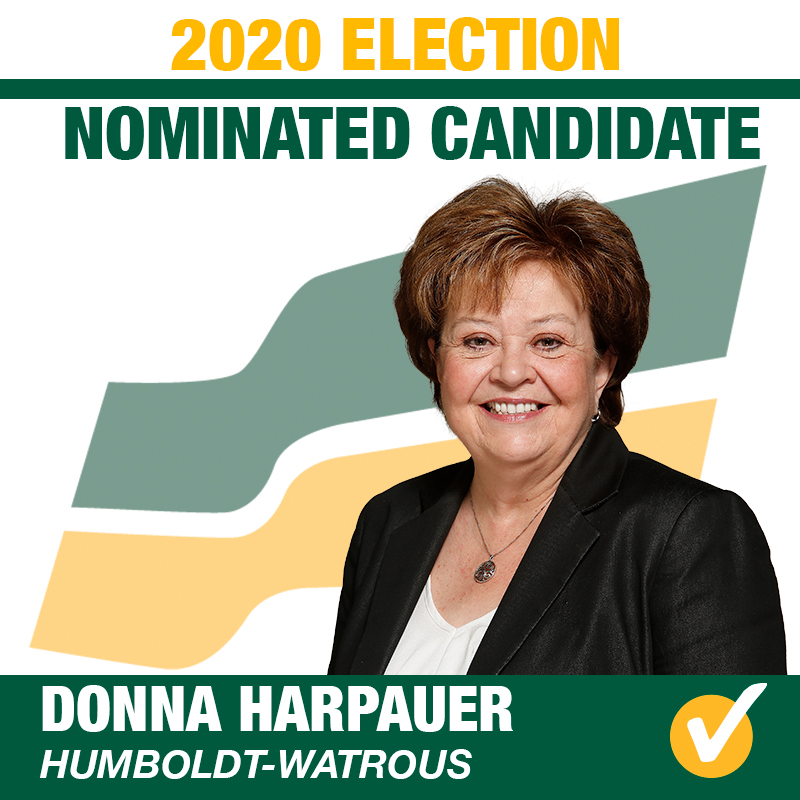 Donna Harpauer Acclaimed as Saskatchewan Party Candidate for Humboldt-Watrous