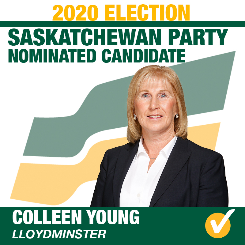 Colleen Young Acclaimed as the Saskatchewan Party Candidate for Lloydminster