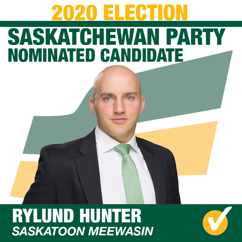 Rylund Hunter Wins Contested Nomination in Saskatoon Meewasin