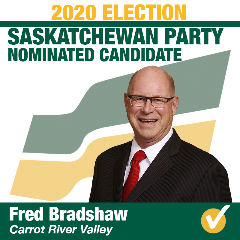 Fred Bradshaw Wins Contested Nomination in Carrot River Valley