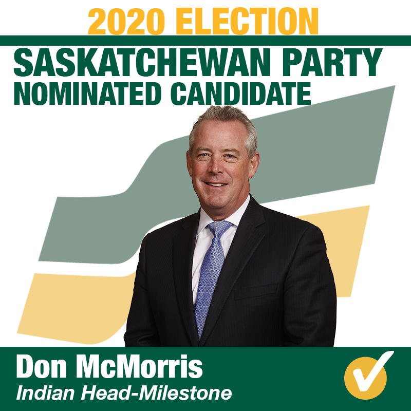Don McMorris Nominated in Indian Head-Milestone