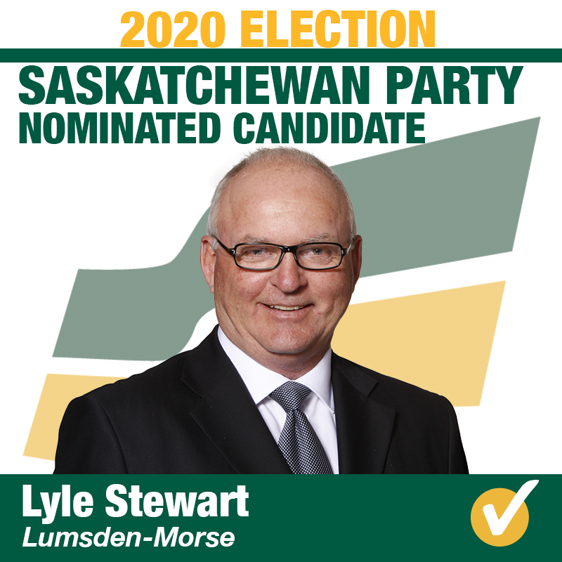 Lyle Stewart Nominated in Lumsden-Morse