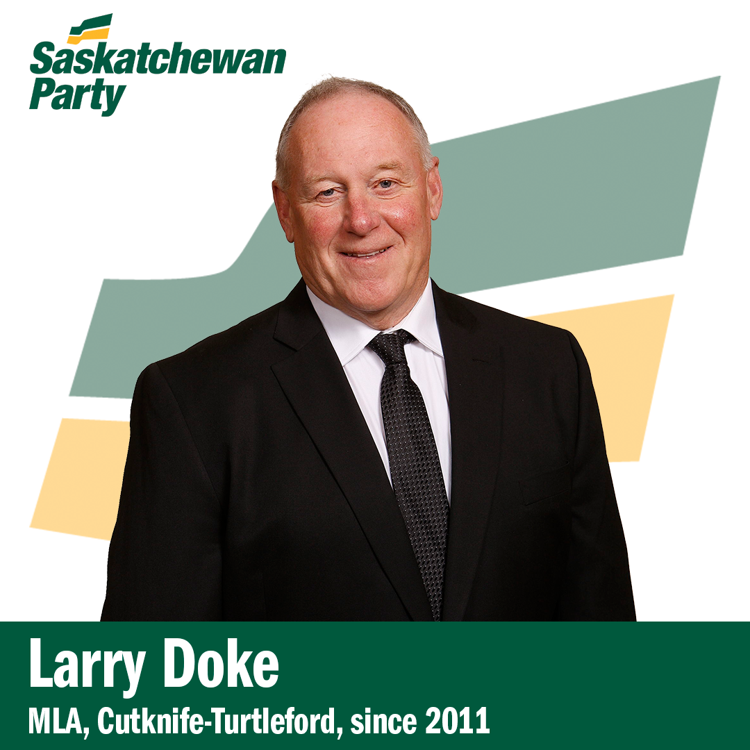 Cutknife-Turtleford MLA Larry Doke Won't Run Again in 2020
