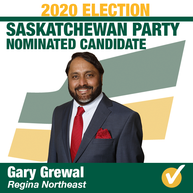 Gary Grewal Wins Contested Nomination in Regina Northeast