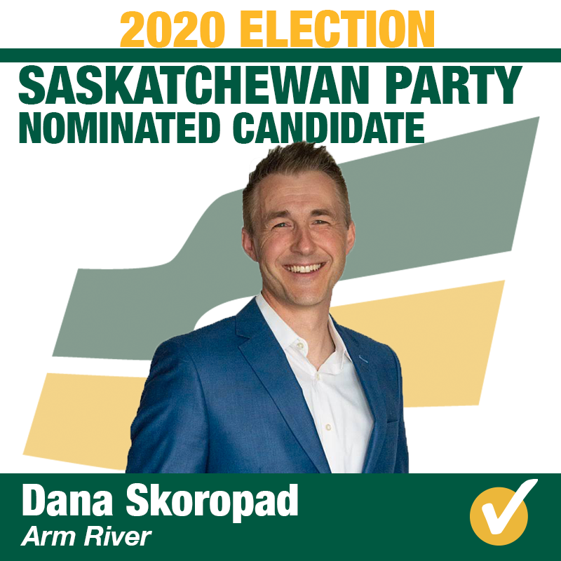 Dana Skoropad Nominated in Arm River