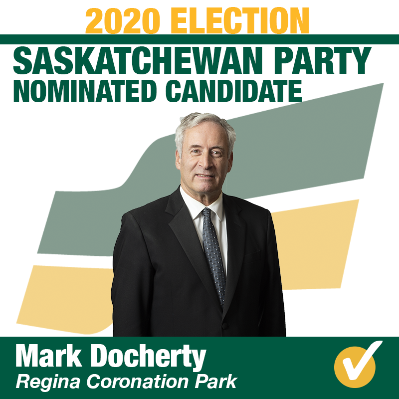Mark Docherty Acclaimed in Regina Coronation Park