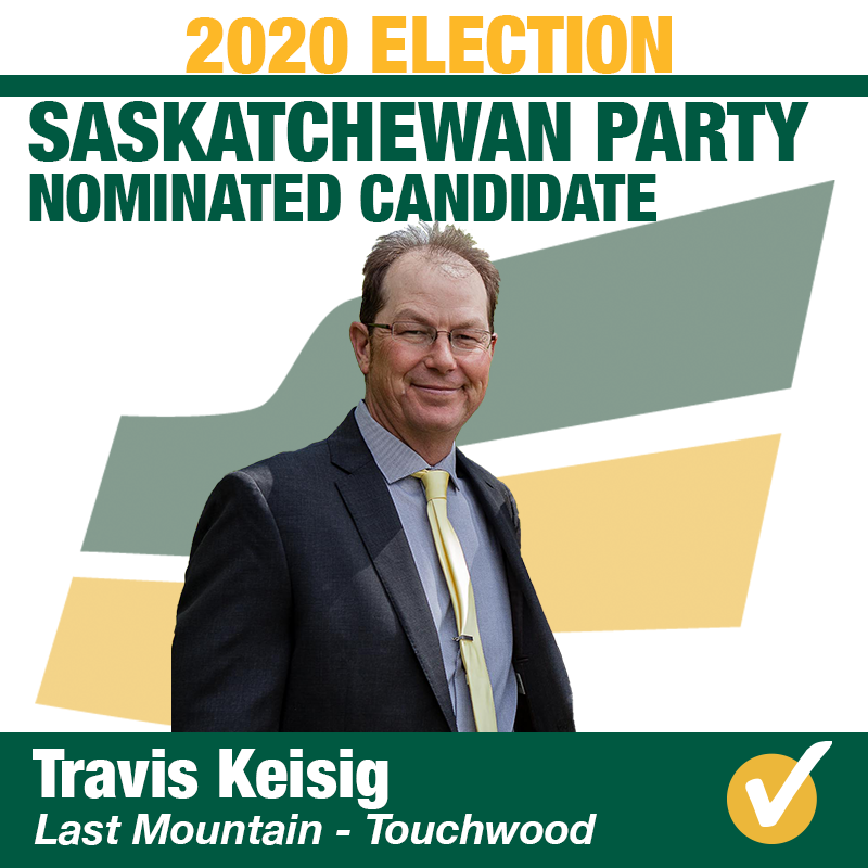 Travis Keisig Wins Contested Nomination in Last Mountain-Touchwood