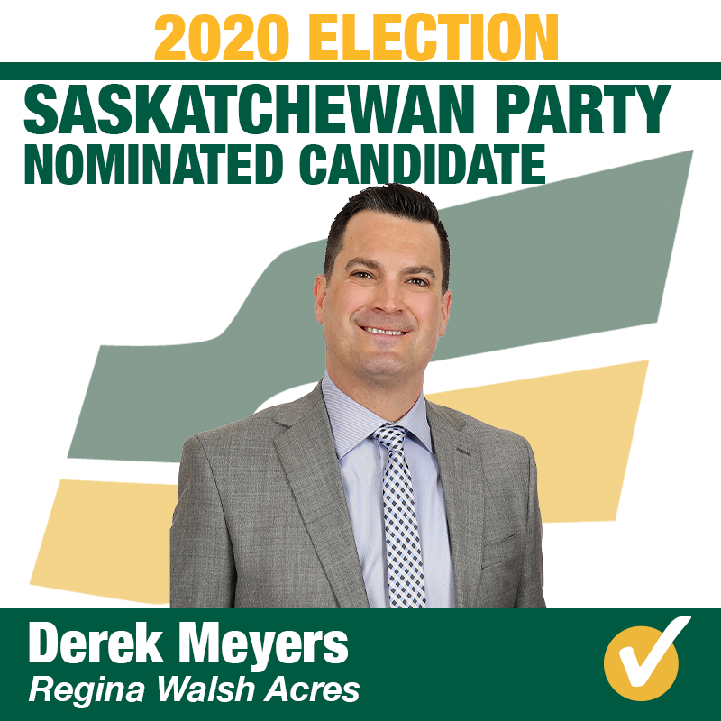 Derek Meyers Acclaimed in Regina Walsh Acres
