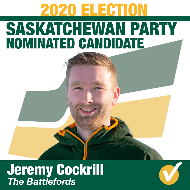 Jeremy Cockrill Wins Contested Nomination in The Battlefords