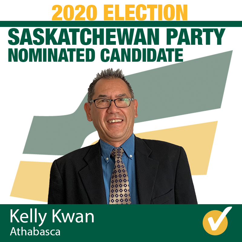 Kelly Kwan Acclaimed as Saskatchewan Party Candidate for Athabasca