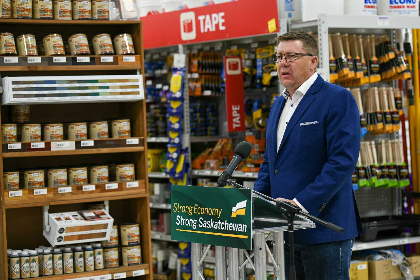 Saskatchewan Party Will Reduce Small Business Tax to Help Drive Economic Recovery