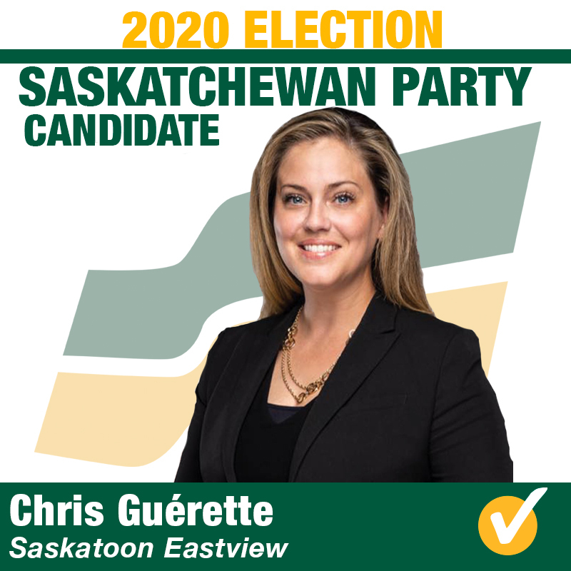 Chris Guérette will be the Saskatchewan Party Candidate in Saskatoon Eastview