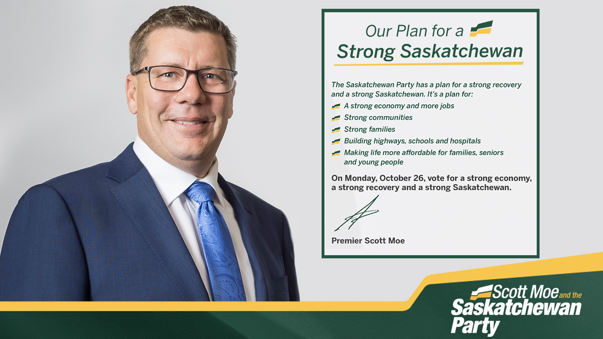The Saskatchewan Party Platform:
