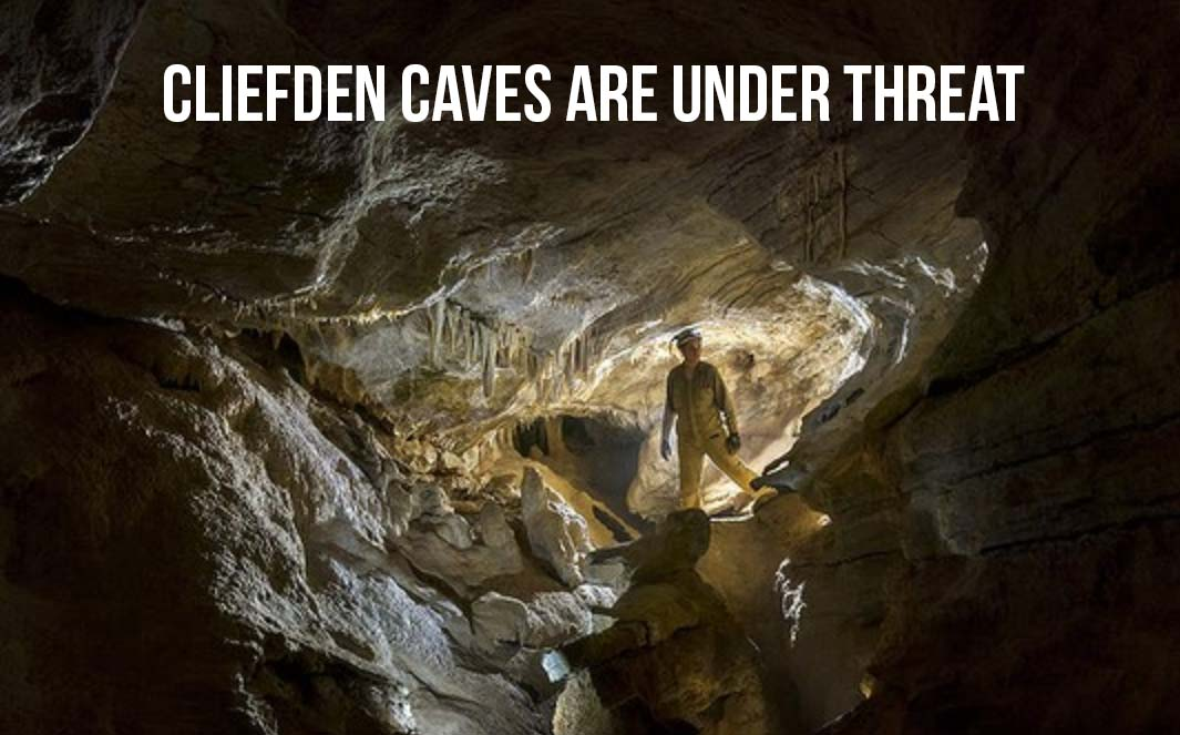 cliefden caves is under threat