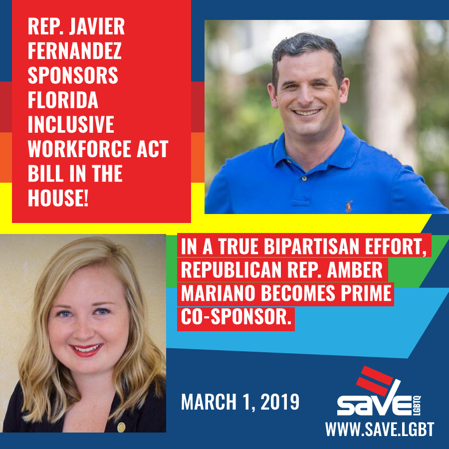 Bipartisan Workforce Bill Would Help >> Representative Javier Fernandez Sponsors Florida Inclusive