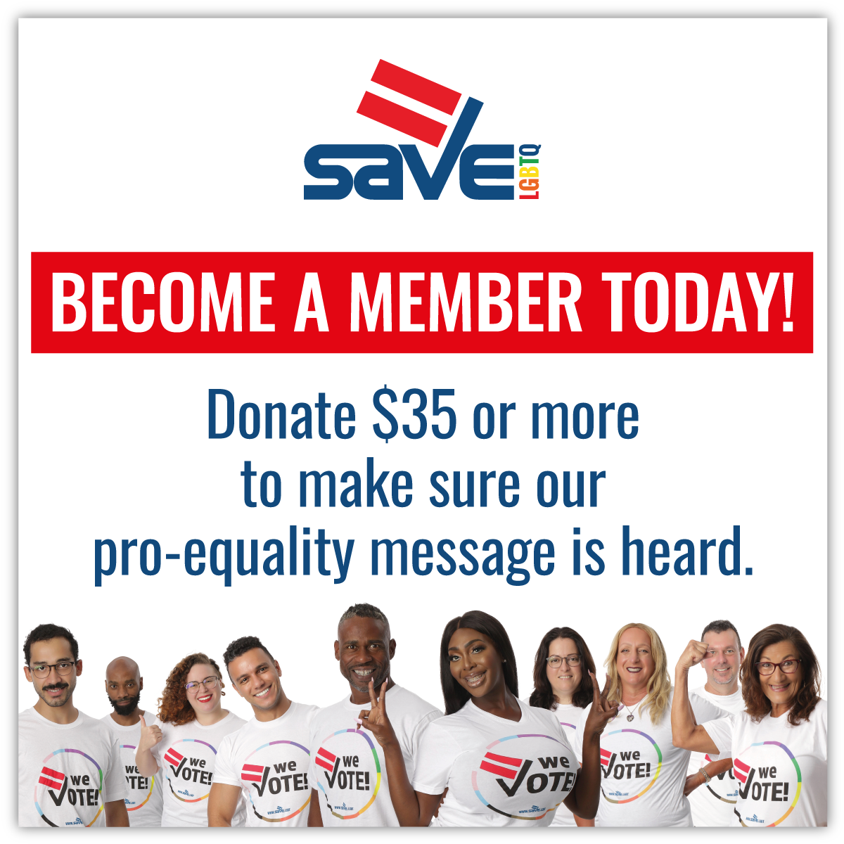 Become a SAVE member